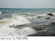Волны. Стоковое фото, фотограф Дарья Силич / Фотобанк Лори