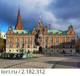 Купить «Ратуша в Мальмё, Швеция», фото № 2182312, снято 6 ноября 2010 г. (c) Михаил Марковский / Фотобанк Лори