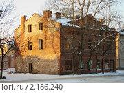 Старый заброшенный дом. Стоковое фото, фотограф Анатолий Баранов / Фотобанк Лори