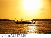 Дони - национальный транспорт Мальдив. Стоковое фото, фотограф Сергеева Дарья / Фотобанк Лори
