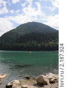 Абхазия. Озеро Рица. Стоковое фото, фотограф Еремин Владимир / Фотобанк Лори