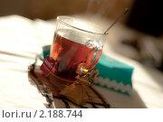 Утренний чай. Стоковое фото, фотограф Евгения Фурсова / Фотобанк Лори
