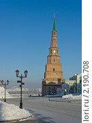 Купить «Казанский Кремль. Башня Сююмбике.», эксклюзивное фото № 2190708, снято 24 января 2010 г. (c) Горшков Игорь / Фотобанк Лори