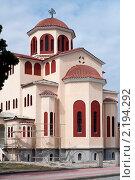 Греческий храм после реставрации. Стоковое фото, фотограф Максим Шагалов / Фотобанк Лори