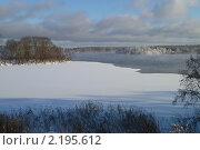 Зимний пейзаж. Стоковое фото, фотограф Михаил Щербаков / Фотобанк Лори