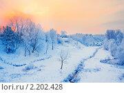 Купить «Зимний пейзаж», фото № 2202428, снято 6 декабря 2010 г. (c) Майя Крученкова / Фотобанк Лори