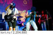 """Купить «""""Easy Dizzy"""" выступает в ночном клубе», фото № 2204880, снято 1 октября 2010 г. (c) Виктория Кириллова / Фотобанк Лори"""
