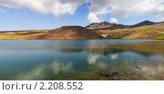 Купить «Озеро Кари на горе Арагац, Армения», фото № 2208552, снято 6 августа 2010 г. (c) Андрей Востриков / Фотобанк Лори