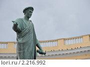 Купить «Одесса. Памятник Ришелье.», фото № 2216992, снято 4 октября 2010 г. (c) Сергей Некрасов / Фотобанк Лори