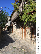 Улочка старого Несебра, Болгария (2008 год). Стоковое фото, фотограф Галина Бурцева / Фотобанк Лори