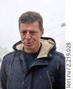 Купить «Вице-премьер Правительства РФ Дмитрий Козак», фото № 2219028, снято 15 декабря 2010 г. (c) Анна Мартынова / Фотобанк Лори