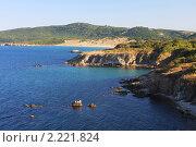 Купить «Черное море. Болгария.», фото № 2221824, снято 20 августа 2010 г. (c) Галина Бурцева / Фотобанк Лори