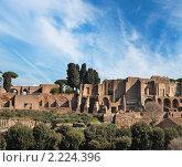 Купить «Старый город Рима , Италия», фото № 2224396, снято 14 февраля 2009 г. (c) Andrejs Pidjass / Фотобанк Лори
