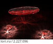 Купить «3 рубина», иллюстрация № 2227096 (c) Владимир Ильин / Фотобанк Лори