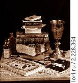 Старые книги. Стоковое фото, фотограф Бусыгин Борис / Фотобанк Лори