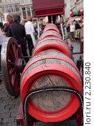 Бочки с бельгийским пивом (2010 год). Стоковое фото, фотограф Дмитрий Бороздин / Фотобанк Лори