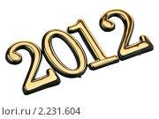 Купить «Число 2012», фото № 2231604, снято 19 декабря 2010 г. (c) Игорь Веснинов / Фотобанк Лори