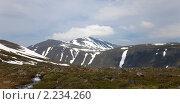 Купить «Панорамный вид на гору Народную, Приполярный Урал», фото № 2234260, снято 9 июля 2009 г. (c) Max Toporsky / Фотобанк Лори