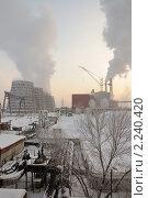 ГРЭС. Стоковое фото, фотограф Жданович Юрий / Фотобанк Лори