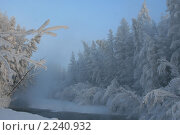 Купить «Оймякон. Индигирка», фото № 2240932, снято 16 января 2010 г. (c) Местников Михаил Иванович / Фотобанк Лори