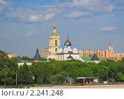 Купить «Новоспасский монастырь», эксклюзивное фото № 2241248, снято 28 мая 2009 г. (c) Алёшина Оксана / Фотобанк Лори