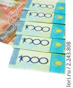 Купить «Валюта Казахстана», эксклюзивное фото № 2243808, снято 24 ноября 2010 г. (c) Blekcat / Фотобанк Лори