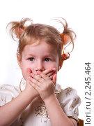 Купить «Никому ничего не скажу», эксклюзивное фото № 2245464, снято 23 декабря 2010 г. (c) Куликова Вероника / Фотобанк Лори