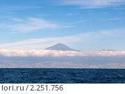 Купить «Вулкан Тейде на Тенерифе», фото № 2251756, снято 7 декабря 2009 г. (c) Алексей Зарубин / Фотобанк Лори