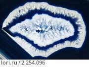 Срез кристалла агата. Стоковое фото, фотограф Андрей Вуколов / Фотобанк Лори