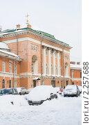 Купить «Спасо-Конюшенная церковь. Санкт-Петербург», эксклюзивное фото № 2257688, снято 19 декабря 2010 г. (c) Александр Щепин / Фотобанк Лори