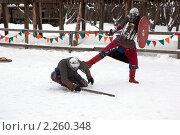Купить «Рыцарский турнир в Туле», эксклюзивное фото № 2260348, снято 5 января 2011 г. (c) ФЕДЛОГ / Фотобанк Лори