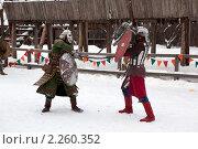 Купить «Рыцарский турнир в Туле», эксклюзивное фото № 2260352, снято 5 января 2011 г. (c) ФЕДЛОГ / Фотобанк Лори