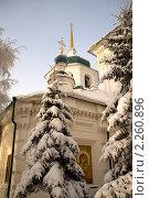 Купить «Знаменская церковь в городе Иркутске», фото № 2260896, снято 2 января 2011 г. (c) Момотюк Сергей / Фотобанк Лори