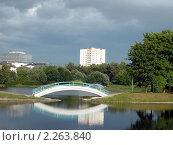 Купить «Лето в городском парке. Россия, Москва, Парк Дружбы», фото № 2263840, снято 26 мая 2006 г. (c) Valeriy Novikov / Фотобанк Лори