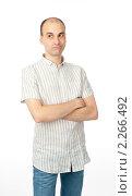 Купить «Портрет молодого мужчины», фото № 2266492, снято 25 декабря 2010 г. (c) Александр Лычагин / Фотобанк Лори
