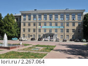 Купить «Тульский педагогический университет», фото № 2267064, снято 21 июня 2010 г. (c) Малышев Андрей / Фотобанк Лори