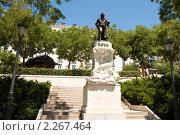 Купить «Памятник Гойя около музея Прадо в Мадриде», фото № 2267464, снято 21 июня 2009 г. (c) Elena Monakhova / Фотобанк Лори