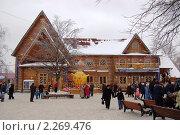 Купить «Усадьба Деда Мороза», фото № 2269476, снято 9 января 2011 г. (c) Елена Ильина / Фотобанк Лори