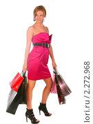 Купить «День шопинга», фото № 2272968, снято 5 ноября 2010 г. (c) Антон Романов / Фотобанк Лори