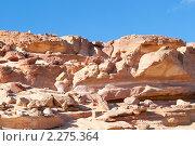 Купить «Цветной каньон. Синай. Египет», фото № 2275364, снято 8 января 2011 г. (c) Екатерина Овсянникова / Фотобанк Лори