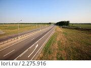 """Купить «Федеральная трасса М-4 """"Дон""""», эксклюзивное фото № 2275916, снято 19 июля 2010 г. (c) Дмитрий Неумоин / Фотобанк Лори"""