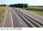 """Купить «Федеральная трасса М-4 """"Дон""""», эксклюзивное фото № 2275940, снято 19 июля 2010 г. (c) Дмитрий Неумоин / Фотобанк Лори"""