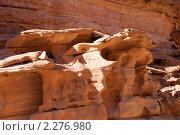 Купить «Цветной каньон. Синай. Египет», фото № 2276980, снято 8 января 2011 г. (c) Екатерина Овсянникова / Фотобанк Лори