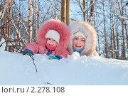 Купить «На прогулке в зимнем лесу», фото № 2278108, снято 15 января 2011 г. (c) Икан Леонид / Фотобанк Лори