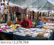 Купить «Уличная торговля. Суздаль», эксклюзивное фото № 2278764, снято 11 сентября 2010 г. (c) lana1501 / Фотобанк Лори