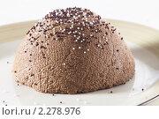 Шоколадная творожная пасха. Стоковое фото, фотограф Лисовская Наталья / Фотобанк Лори