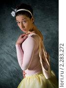 Балерина с пуантами. Стоковое фото, фотограф Лена Лазарева / Фотобанк Лори