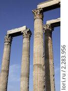 Греческие колонны (2010 год). Стоковое фото, фотограф Галина Афанасьева / Фотобанк Лори