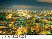 Купить «Ночь на Беговой», фото № 2287252, снято 8 марта 2010 г. (c) Kremchik / Фотобанк Лори