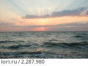 Рассвет в Ейске)) Стоковое фото, фотограф Лиля Сайко / Фотобанк Лори